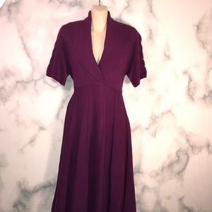 🔮2/$12 EUC JONESWEAR Sweater dress retro